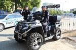 Policie, hlídka. Ilustrační foto