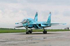 Ruský stíhač Su-30SM, ilustrační foto