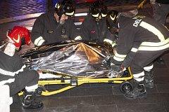 V Římě se rozbil eskalátor. Zranilo se na 20 lidí.