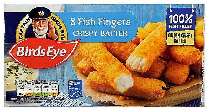 Rybí prsty Birds eye 8 fish fingers