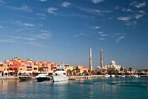 Egyptská Hurghada