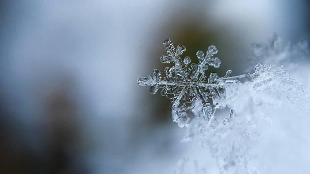 Sněhová vločka - Ilustrační foto