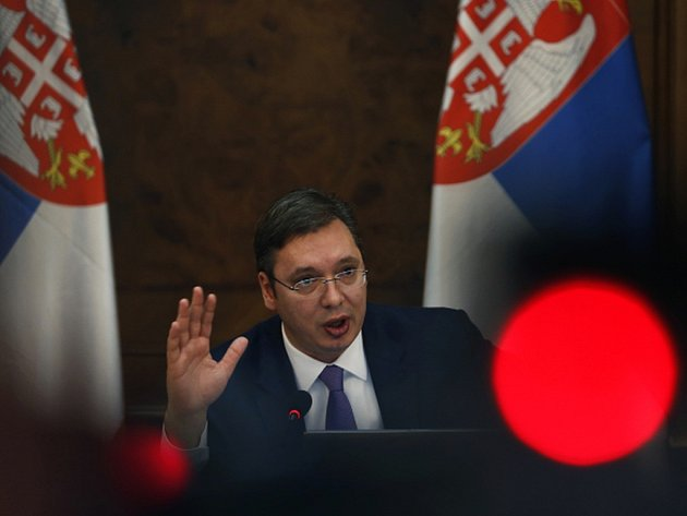 Srbský premiér Aleksandar Vučić přijede ve středu na návštěvu Tirany.