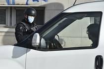 Policista na hranicích. Ilustrační snímek
