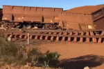 V Austrálii vykolejil vlak. Rozjel se bez strojvedoucího