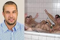 Nový místostarosta Ružinova Martin Patoprstý na inkriminované fotografii