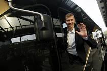 Na snímku je generální ředitel společnosti LEO Express Leoš Novotný.