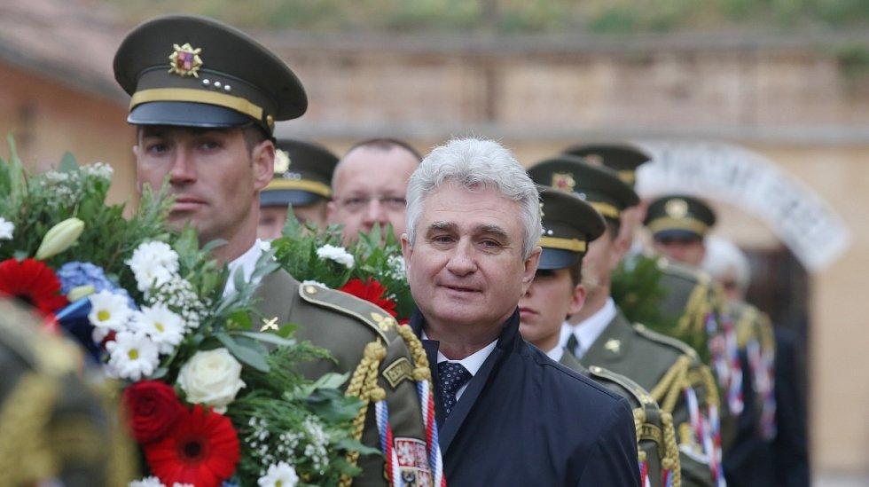 Terezínská tryzna k uctění oběti nacistické perzekuce.