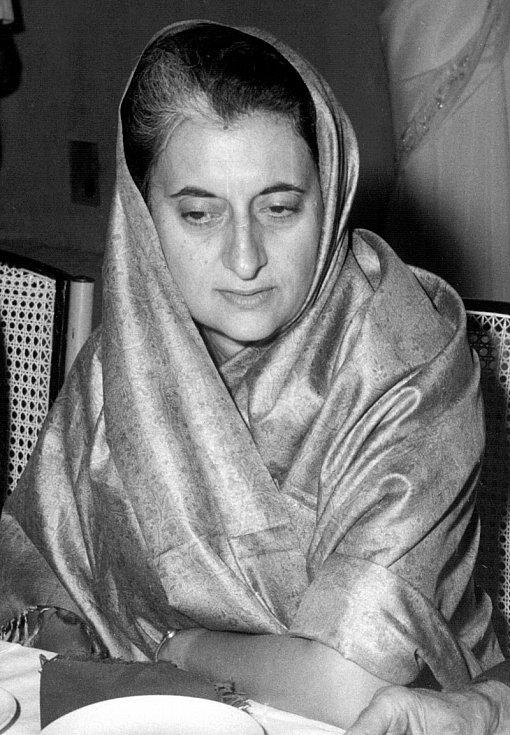 Indira Gándhiová v roce 1967