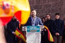 Lídr strany Vox Santiago Abascal