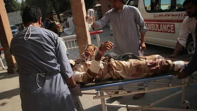 Bombový útok v Afghánistánu