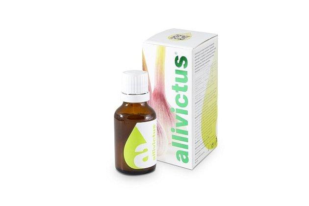 Allivictus - Využijte blahodárných vlastností česneku naplno!