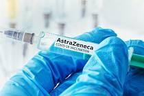 Vakcína proti covidu AstraZeneca.