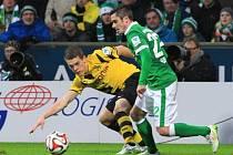 Brémy - Dortmund: Fin Bartels a Matthias Ginter