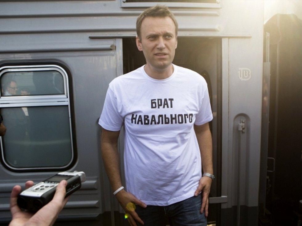 Opoziční předák Alexej Navalnyj.