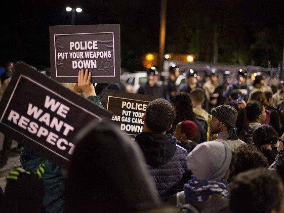 Demonstrace ve Fergusonu.