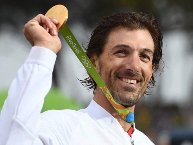 Fabian Cancellara se rozloučil s kariérou olympijským zlatem z časovky.
