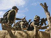 Vlajka Strany kurdských pracujících. Ilustrační foto