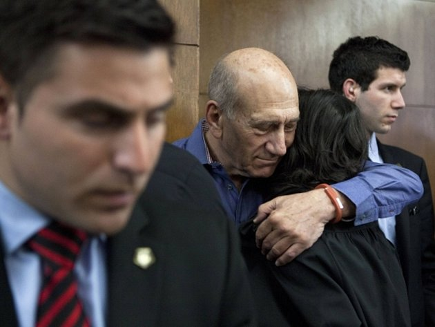 Bývalý izraelský premiér Ehud Olmert.