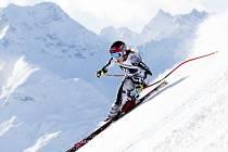 Ester Ledecká na lyžích