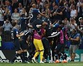 Francouzi se radují z vítězství na MS.