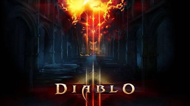 Logo počítačové hry Diablo III.
