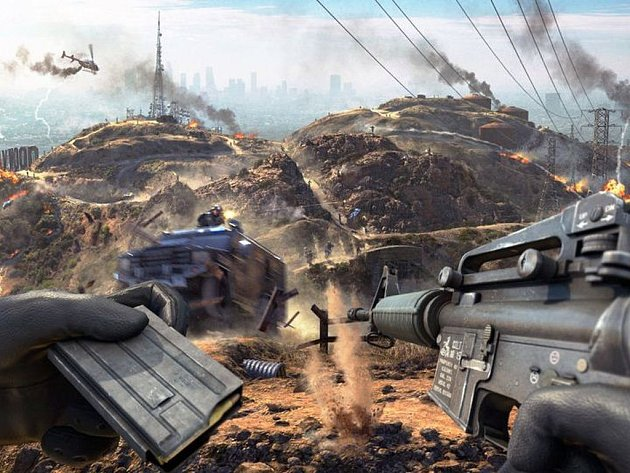 Počítačová hra Police Warfare.