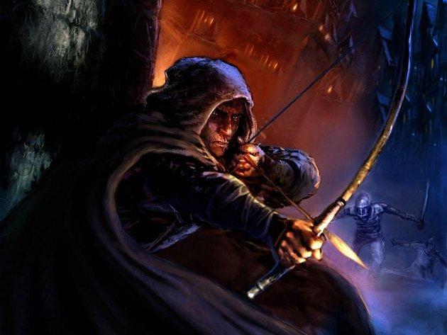 Hlavní hrdina počítačové hry Thief.