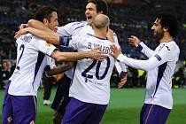 Fiorentina vyhrála na AS Řím. První gól z penalty zařídil Gonzalo Rodriguez