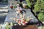 Hrob Anny Jantar na varšavském hřbitově
