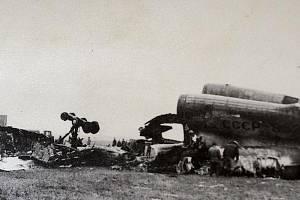 Katastrofa dopravního letounu Tupolev Tu-154 11. října 1984 v Omsku. Při přistávání letadlo narazilo do vozidel údržby na dráze