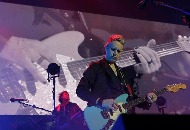 zkoncertu Depeche Mode vO2 Areně