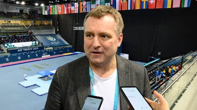 Český velvyslanec Milan Ekert.