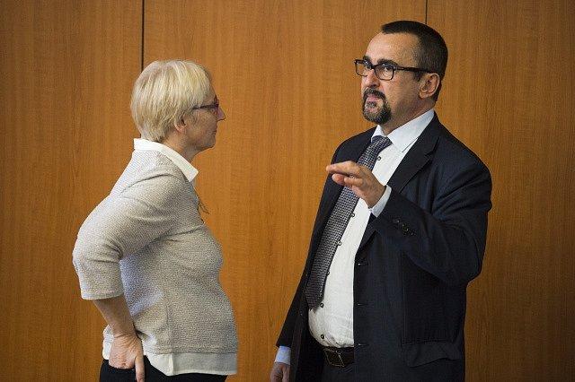 Olga Sehnalová a Pavel Poc (ČSSD)