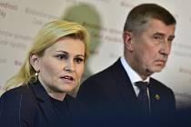 Ministryně spravedlnosti Taťána Malá a premiér Andrej Babiš