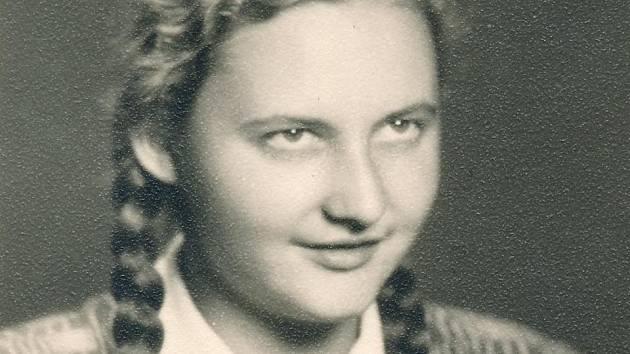 Ingeborg Cäsarová v roce 1951