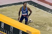 Christian Taylor získal na mistrovství světa zlato v trojskoku.