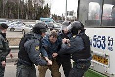 Ruská policie, ilustrační foto.