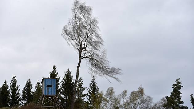 Silný vítr