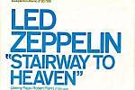 Propagační plakát Stairway to Heaven od Led Zeppelin