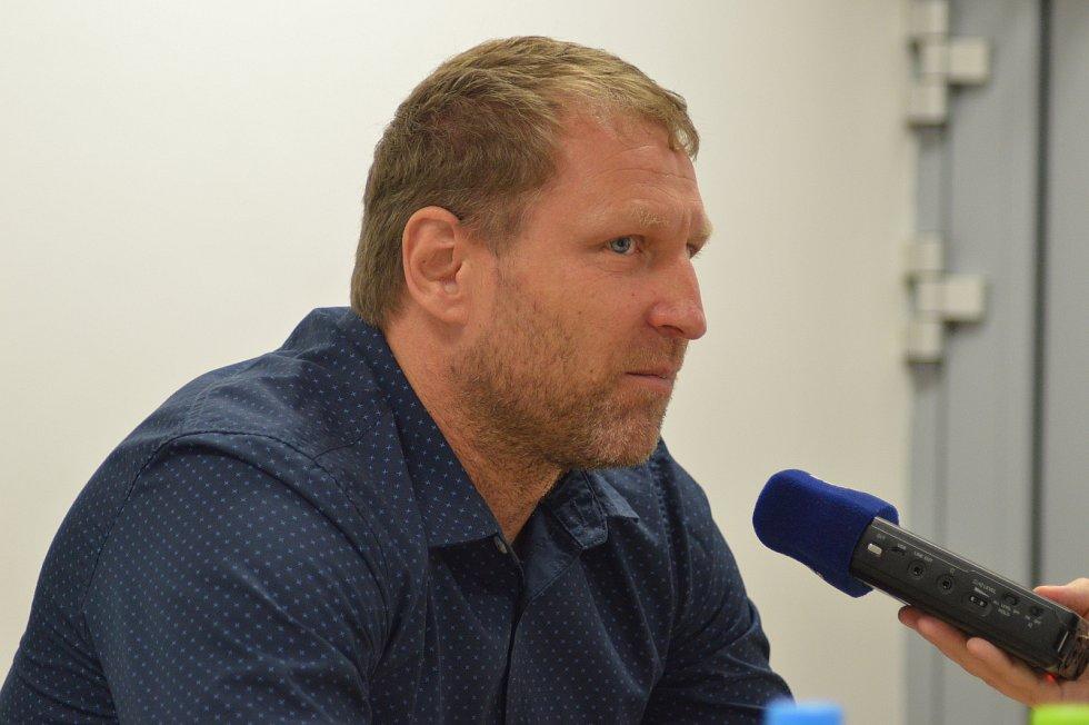 Aleš Křeček, trenér fotbalistů Jihlavy