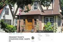 Rodný dům Donalda Trumpa v nabídce Airbnb