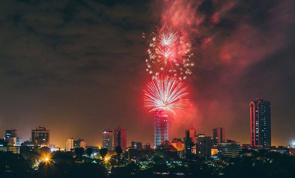 Novoroční oslavy v Nairobi