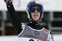 Gregor Schlierenzauer vyhrál závod SP v letech na lyžích ve slovinské Planici.