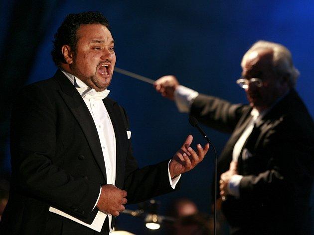 Mexický tenorista Ramón Vargas.