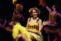 Zpěvačka Monika Absolonová v ústeckém muzikálu Funny Girl