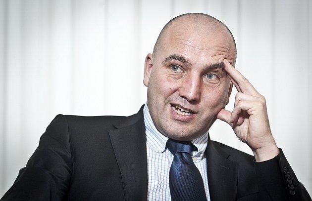 Generální ředitel Všeobecné zdravotní pojišťovny Zdeněk Kabátek.