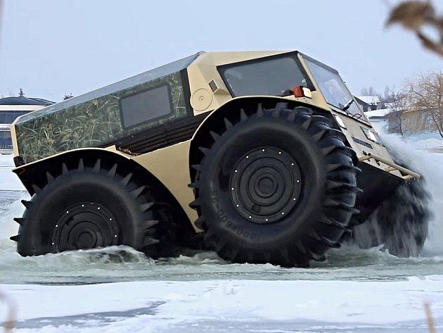 Sherp je zvláštní terénní vozidlo z Ruska.