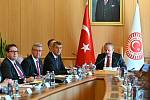 Český premiér Andrej Babiš na třídenní návštěvě Turecka