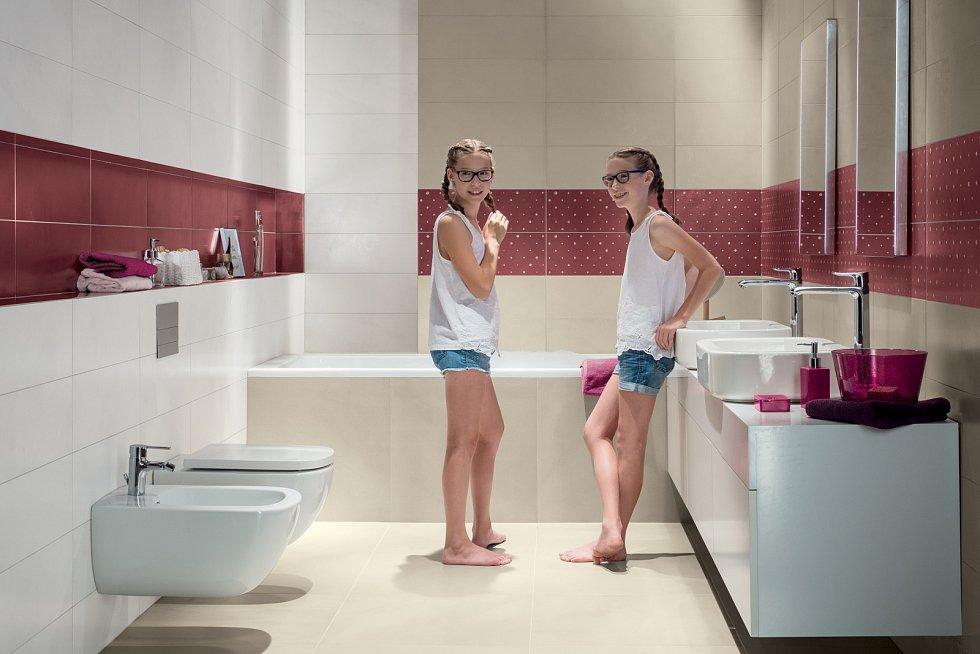 Nové dispoziční řešení koupelny pochopitelně nemusí kopírovat původní, dívejte se do budoucnosti.
